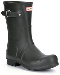 HUNTER - Original Short Men ́s Waterproof Rain Boots - Lyst