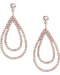 Cezanne - Layered Loops Statement Earrings - Lyst