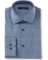 John Varvatos - Star Usa Regular Fit Spread Collar Cross Check Dress Shirt - Lyst