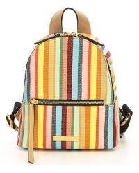 Kurt Geiger - Richmond Stripe Small Backpack - Lyst