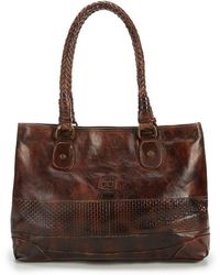 Bed Stu - Waverly Check-embossed Tote - Lyst