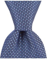 "Hart Schaffner Marx - Contrast Dot Traditional 3 1/4"" Silk Tie - Lyst"