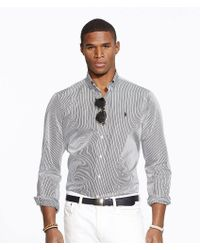 Polo Ralph Lauren | Hairline-striped Poplin Shirt | Lyst