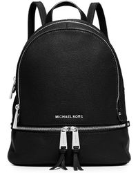 MICHAEL Michael Kors - Rhea Medium Zip Backpack - Lyst