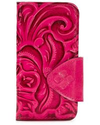Patricia Nash - Burnished Tooled Collection Alessandria Iphone 8 Wallet - Lyst