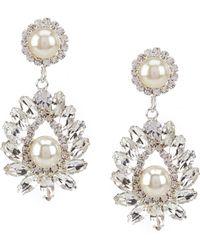 Cezanne Flame Trim Earrings