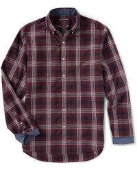 Michael Kors - Men's Abner Plaid Slim Sport Shirt - Lyst