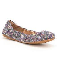 Antonio Melani Prima Casual Floral Print Flats Made With Liberty Fabrics XTtRK3rp