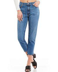 Comune - Seattle Revival Hi Rise Slim Fit Vintage-washed Jeans - Lyst