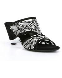 Onex - Megyn Stone Detailing Dress Sandals - Lyst
