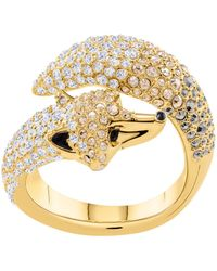 Swarovski - March Fox Ring - Lyst