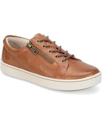 Born - Tamara Casual Zip Leather Sneakers - Lyst