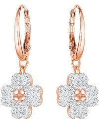 Swarovski - Latisha Pierced Statement Earrings - Lyst