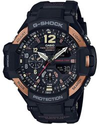 G-Shock - Master Of G Series Ana-digi Resin-strap Watch - Lyst