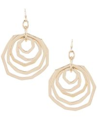 Dillard's - Layered Rings Earrings - Lyst