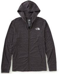 The North Face - Tee Long-sleeve Tri-blend Full Zip Hoodie - Lyst
