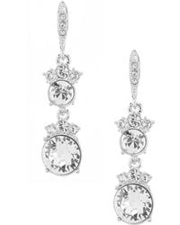 Givenchy - Crystal Drop Earrings - Lyst