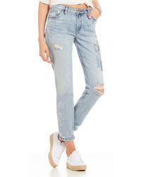 Silver Jeans Co. - Aiko Ankle Skinny Jeans - Lyst