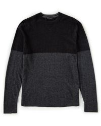 Smartwool - Sparwood Color Block Long-sleeve Sweater - Lyst
