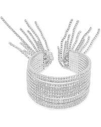Cezanne - Fringe Cuff Bracelet - Lyst