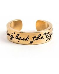 ALEX AND ANI - Bring Back The Light Adjustable Ring - Lyst