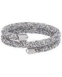 Cezanne - Crystal Rocks Flex Bracelet - Lyst