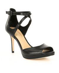 Antonio Melani - Lamenta Leather Dress Sandals - Lyst