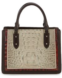 Brahmin - Westwood Collection Colorblock Small Camille Satchel - Lyst