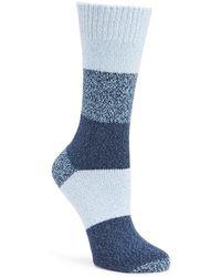 Frye - Colorblocked Crew Socks - Lyst