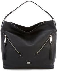 MICHAEL Michael Kors - Evie Large Double Zipper Hobo Bag - Lyst