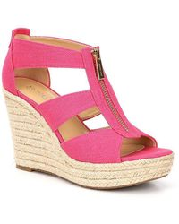 MICHAEL Michael Kors - Damita Wedge Sandals - Lyst