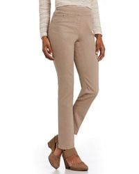 Ruby Rd. - Comfort Waistband Pull-on Extra Stretch Color Denim Pants - Lyst