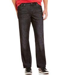 True Religion - Ricky Straight Leg Corduroy Jeans - Lyst