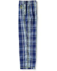 Psycho Bunny - Galaxy Large Plaid Woven Pajama Pants - Lyst