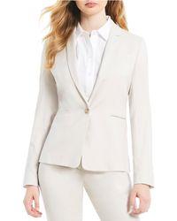 Antonio Melani - Made With Loro Piana Fabric Nicole Blazer Jacket - Lyst