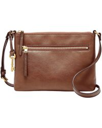 Fossil - Fiona Small Cross-body Bag - Lyst