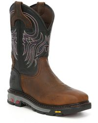 Justin Boots - Justin Original Work Boots Men's Tanker Boots - Lyst