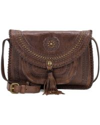 Patricia Nash - Distressed Vintage Collection Beaumont Tasseled Cross-body Bag - Lyst