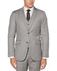 85d87cab61 Lyst - Perry Ellis Big   Tall Solid Sport Jacket in Black for Men