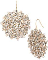 Kenneth Cole Woven Drop Earrings