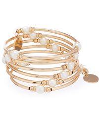 Dillard's - Pearl Coil Bracelet - Lyst