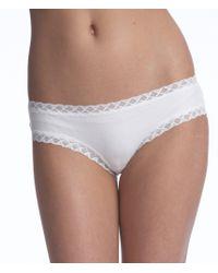 Natori - Bliss Pima Cotton Girl Brief Panty - Lyst