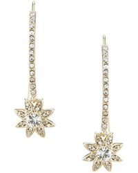 Marchesa - Dainty Detour Star Linear Earrings - Lyst