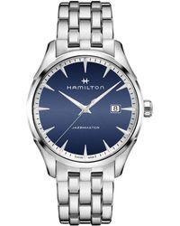 Hamilton - Jazzmaster Gent Analog Bracelet Watch - Lyst