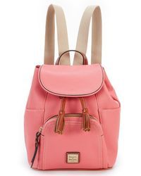 Dooney & Bourke - Pebble Collection Mini Murphy Backpack - Lyst