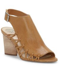 Vince Camuto   Ankara Side Lattice Sandals   Lyst