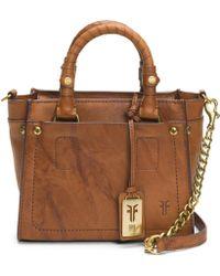 Frye - Demi Mini Vintage Leather Satchel - Lyst