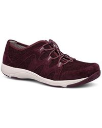 Holland Suede & Mesh Bungee Lace Up Sneakers 9HaZJyWcJS