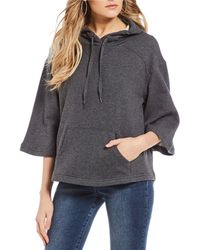 William Rast - Soho Cropped Hoodie - Lyst