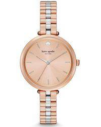 Kate Spade - Holland Skinny Bracelet Watch - Lyst